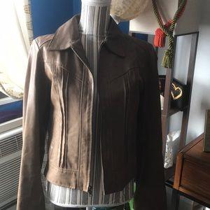 Moda International Genuine Leather moto jacket